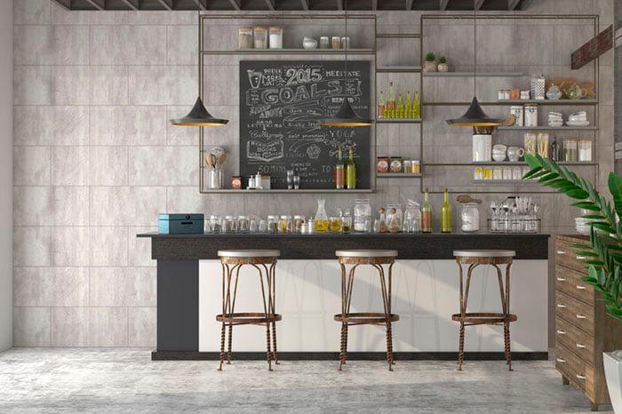 aqua panels - commercial - restaurant - cafe